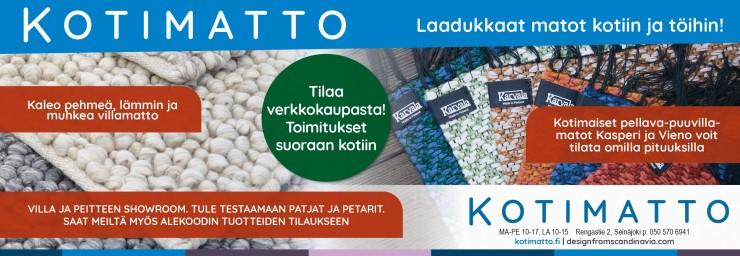 Kotimatto - palveleva mattokauppa verkossa ja Seinäjoella.